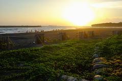 X100 (Sid Huang) Tags: camera travel sunset sea sky film beach photography photo flickr view wide picture taiwan wideangle snap velvia kaohsiung  fujifilm  fujinon  fujicolor  streetsnap  visionsinmyhead fujifilmx100 fujinon23mmf20 sidhuang