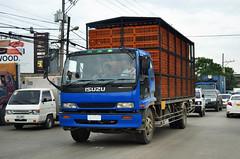 Isuzu Truck - Cebu Philippines (prahatravel) Tags: road truck asia philippines transport cargo transportation heavy freight logistics isuzu lastebil