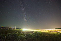 (jcolemangphoto) Tags: road light cars night way stars photography time sony trails indiana astrophotography terre roads milky f28 a7 haute 14mm rokinon