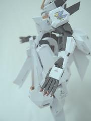 Woundwort RX-124 Gundam TR-6 - 009 (Arcanin-ex) Tags: gundam tr6 papercraft woundwort rx124