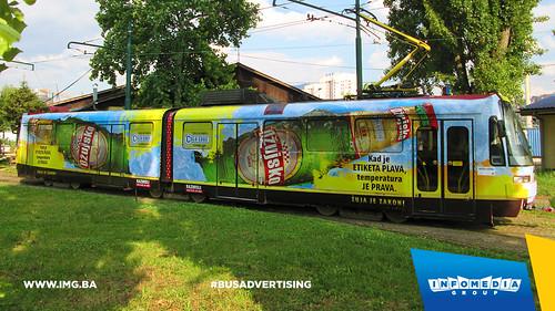 Info Media Group - Ožujsko pivo, BUS Outdoor Advertising, Sarajevo 06-2015 (4)