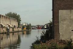 kraancrash Julianabrug-7292 (leoval283) Tags: bridge crash cranes pontoons ponton alphenaandenrijn alphen julianabrug hijskranen brugdek