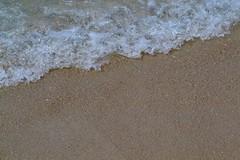 Sand (erinwolf1997) Tags: ocean sea white beach water seaside sand oahu foam