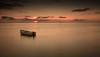 tranquillità (paolotrapella) Tags: lunga esposizione barca cielo nuvole sky clouds long exposure boat acqua water