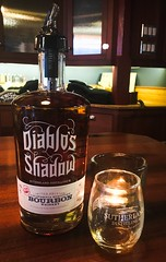 Make it a Double (BenitaMarquez) Tags: diabloshadow northerncalifornia bayarea distillery bar pour sutherlanddistilleryco shotglass liquid liquor america usa california livermore bottle spirits whiskey bourbon