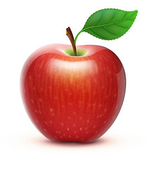 red apple (aleshdulal) Tags: apple red fruit vector food healthy illustration lifestyle leaf freshness sweet stem isolated ripe shiny art image nature organic color cartoon icon summer spring fruity silhouette harvest comic full purity temptation glossy simple design shadow vitality fresh brightly fun stipe autumn round concept gloss natural innocence crop retrostyled big perfection