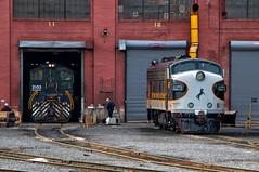 Which Decade is it? (Wheelnrail) Tags: ns heritage locomotive ge emd railroad norfolk southern loco trains train rails pittsburgh line altoona juniata shops pennsylvania ac44c6m nw f7 lilly gallitzin