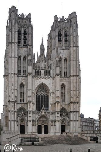 Brussels -- Cathédrale Sts.-Michel-et-Gudule