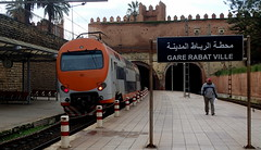 Gare de Rabat, Morocco (Pranav Bhatt) Tags: morocco maroc marocc moroc northafrica africa kingdom kingdomofmorocco almaghrib rabat capital nationalcapital city fortified fortifiedpalace