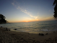 get dark (BipolArt ☾ Séptimo Arte) Tags: baru playa beach colombia sun