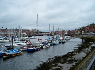 Esk at Whitby, July 2009