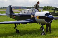 Yakovlev Yak 52 n° 833707 ~ G-CBSS (Aero.passion DBC-1) Tags: meeting liege 2007 aeropassion dbc1 david biscove airshow aviation avion aircraft plane yakovlev yak 52 ~ gcbss