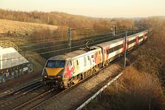 91111 & 82209 South Kirkby, West Yorkshire (DieselDude321) Tags: 91111 82209 dvt virgin east coast trains 1d14 1235 london kings cross leeds south kirkby west yorkshire class 91