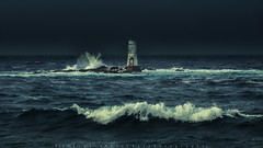 Lighthouse Mangiabarche (Southern Sardinia) (piercarlobacchiphotography) Tags: lighthouse mangiabarche sardinia sea seascape santioco marine nature ndfilters leefilters wave fujifilmxt1 fujifilmxf50140mmf28rlmoiswr storm