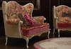 "Set ""STEPFORD"" 1:4 (Sofa (LE8, №5), Armchair (LE10, №5), poof, Carpet) (JuliaGart) Tags: furniture for furniturefordolls furnitureforthesybarite order ottoman pouf pillow chair carpet armchair sybarite superfrock sybarites sofa scale 14 julia juliagart gartung"