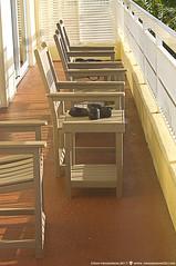 Cameras Ready (Don Henderson) Tags: pompanobeach chairs goodlight cameras sunlight naturallight