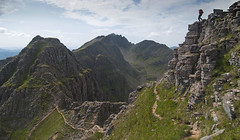 Walking the Liathach Ridge (Nick Landells) Tags: amfasarinen mullachanrathain liathach torridon hill walking scotland scrambling scramble ridge