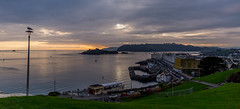 Plymouth Hoe Skyline (trevorhicks) Tags: plymouth sound hoe devon sunset harbour bay water sky clouds island canon 6d tamron