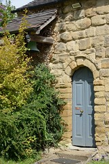 015-20160813_Abberley Norman Church-Worcestershire-entrance in S side of original Chancel, now current Church (Nick Kaye) Tags: abberley worcestershire england church