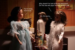 Inside the Valley of the Dolls (1967) (barbiescanner) Tags: valleyofthedolls barbie francie barbiefashion franciefashion diorama miniatures gotogether barbiefurniture genefurniture cultfilms films