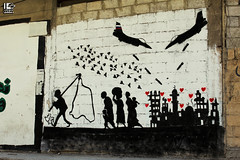 The story of Syria (Take a look on Syria without propaganda) Tags: story graffiti syria wall street love war people peace hope humanity home help russia assad damascus dimashqi