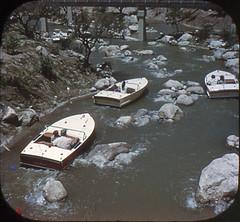 Tomorrowland Reel 3, #4b - Motorboat Cruise Through Roaring Rapids (Tom Simpson) Tags: viewmaster slide vintage disney disneyland 1960s vintagedisney vintagedisneyland