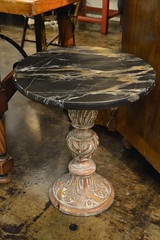 """Faux Marble Table • <a style=""""font-size:0.8em;"""" href=""""http://www.flickr.com/photos/51721355@N02/18277682870/"""" target=""""_blank"""">View on Flickr</a>"""