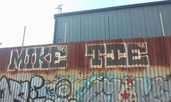 Mike Tie (TextEverywhere) Tags: mike graffiti tie bbb dfm riptie oaklandgraffiti bayareagraffiti