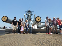 Father's Day at Battleship Iowa 2015-06-21 018 - Explored (Konabish ~ Greg Bishop) Tags: people southerncalifornia fathersday warship portoflosangeles ussiowa 10000views explored tenthousandviews sanpedrocalifornia bb61 pacificbattleshipcenter brewsnbbq