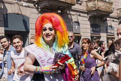 """Torino  """"Pride 2015"""" (Leandro.C) Tags: torino costume automobile persone felino donne colori spettacolo palloncini bandiere bandiera sfilata manifestazione folclore personaggi bandamusicale torinopride"""