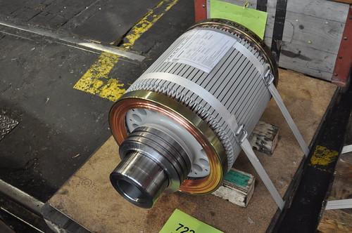 Rotor, bereit zur Montage