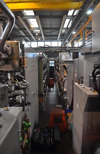 Maschinenraum der Re 460 006