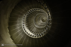 Spiral Architect (adrianmoorephotography) Tags: lighthouse abstract france up architecture stairs spiral photography climb design construction interior steps stairwell staircase bannisters handrail escaleras riser banisters baluster astairwaytoheaven