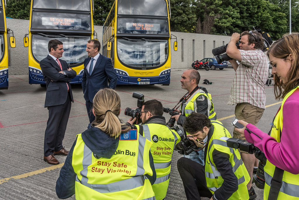 90 NEW BUSES FOR DUBLIN CITY [AUGUST 2015] REF-106977