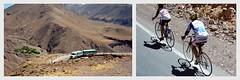 Le chauffeur est un maestro : jamais de coups de freins brusques ou des virages sur 2 roues et il est capable de doubler des camions (cf petit vidéo à la fin). Car nous ne sommes pas seuls sur la route, comme vous le voyez. (Barbara DALMAZZO-TEMPEL) Tags: bus argentine car pullman andes paysage salta traversée frontière