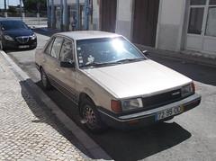 US-Spec 1987 Mazda 323 1.3DX Sedan (Nutrilo) Tags: sedan 1987 mazda 323 usspec 13dx