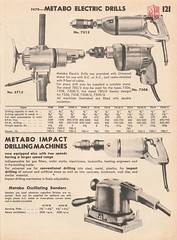 Metabo Electric Drills (Runabout63) Tags: metabo powertool electric drill mcphersons