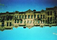 (mikehip) Tags: kodak color film 35mm holga doubleexposure lomography splitzer nyc newyorkcity manhattan usa buildings photography filmisnotdead