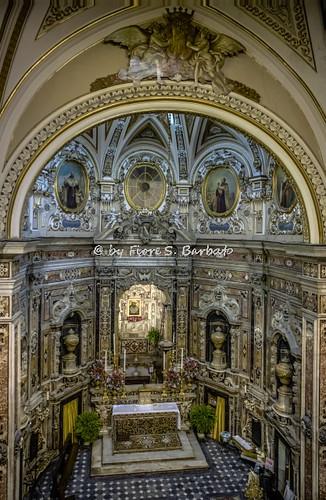 Napoli (NA), 2016, Basilica del Carmine Maggiore.