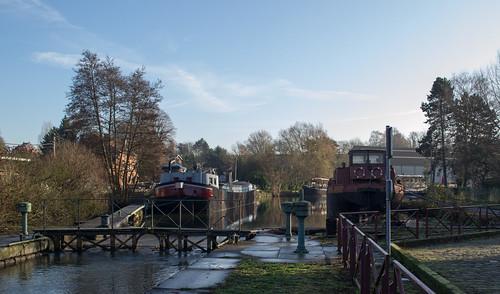 Belgium Ronquières canal (#0204)