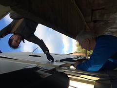 """De 2 nye skivene på 100m monteres • <a style=""""font-size:0.8em;"""" href=""""http://www.flickr.com/photos/93335972@N07/31840855620/"""" target=""""_blank"""">View on Flickr</a>"""