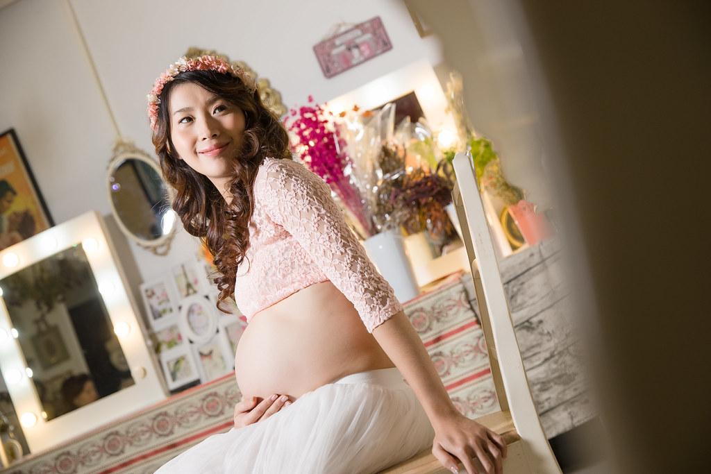 孕婦寫真,孕婦攝影,孕婦棚拍,婚攝卡樂,161217筱琪23