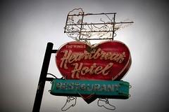 heartbreak hotel... (woodwork's) Tags: heartbreakhotel graceland elvispresley memphis tennessee neon sign signporn