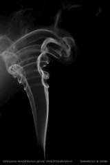 Smoke art: Tornado (srkirad) Tags: indoor smoke art smokeart bw blackwhite