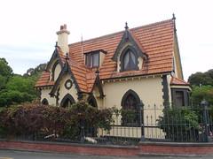 Mona Vale Gatehouse (benhosg) Tags: newzealand southisland monavale