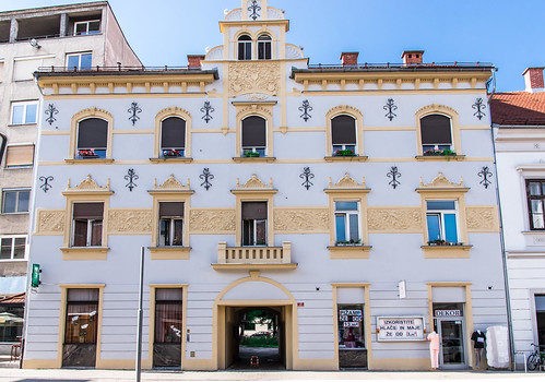 Secession architecture in Maribor