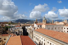 Palermo - Il cassaro dall'alto (marcopa82) Tags: sky city street church light clouds italy tourism architecture art travels sicily holidays palermo pa