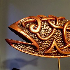 Viking Fish (darksaga66) Tags: woodcarving sculpture art myart viking fish