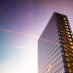 BNF building (Zeeyolq Photography) Tags: architectures bibliothèquenationaledefrance bnf building francoismitterand paris sky sunset îledefrance france