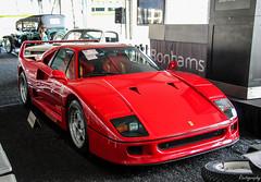1989 Ferrari F40 (Rivitography) Tags: 1989 ferrari f40 exotic fast car supercar classic expensive italian greenwich connecticut 2016 canon rebel t3 adobe lightroom rivitography